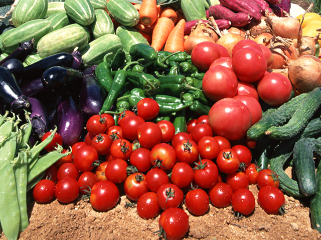 Quality of vegetable crops