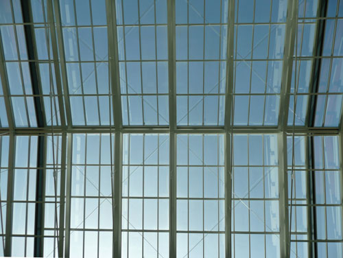 greenhouse structure material glass