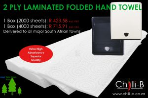 folded paper hand towels cape town